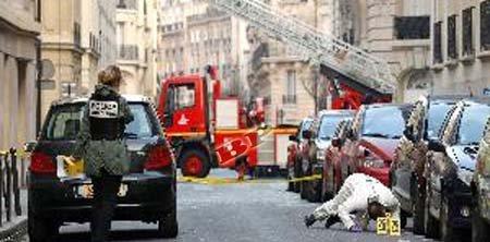 Bom di Depan KBRI Prancis