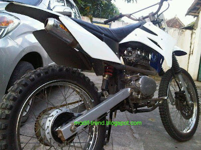 honda CB modif to trail