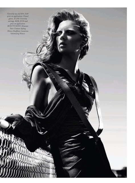 Harper's Bazaar, Holly Rose, Editorial, fashion, style, model, womens fashion, march, 2014, Australia, sbyb,