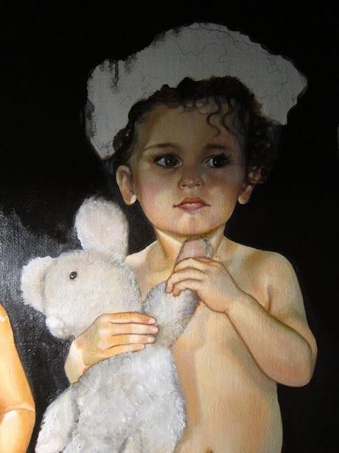 Frise de petits enfants- Diane et ratatouille
