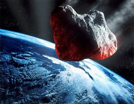Resultado de imagen de Nos visitó un meteorito que pasó de largo