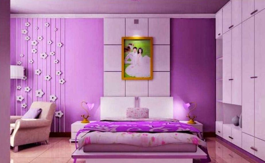 warna cat kamar tidur perempuan