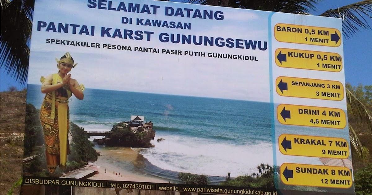 Rute Menuju ke Kawasan Pantai Gunungkidul Jogja | Wisata ...