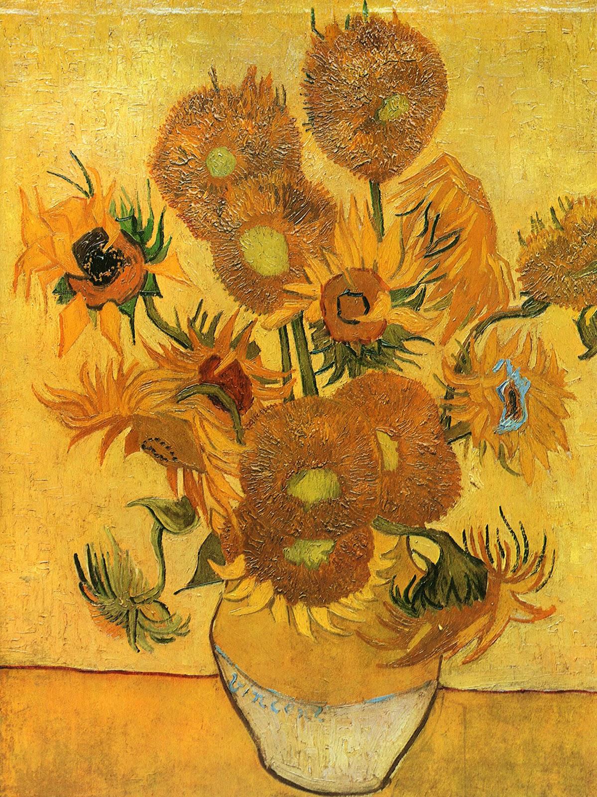 ART & ARTISTS Vincent van Gogh Flowers part 2