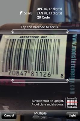 RedLaser - Barcode Scanner and QR Code Reader Free Download