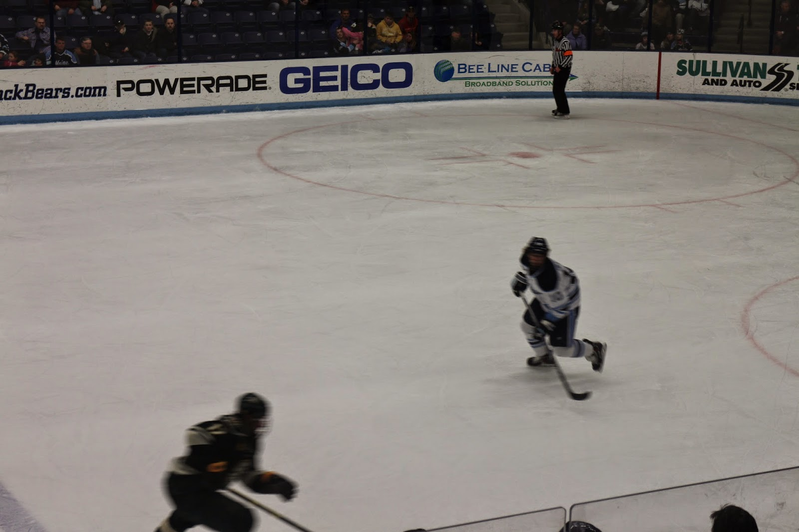 Umaine Black Bears Hockey 2014, vs. University of Vermont UVM