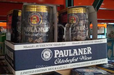 Celebrate Oktoberfest with a mug of Paulaner Munchen Oktoberfest Wiesen Beer
