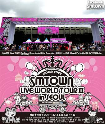 smtown live world tour seoul