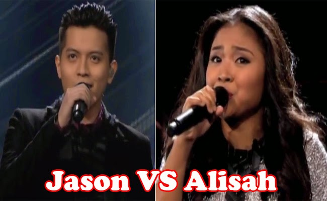 The Voice of the Philippines Season 2 Top 2 Alisah Bonaobra and Jaso Dy