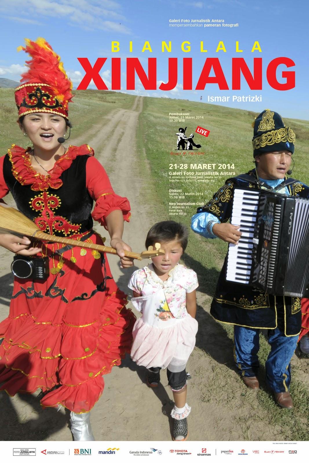 """Pameran Fotografi """" Bianglala Xinjiang"""""""