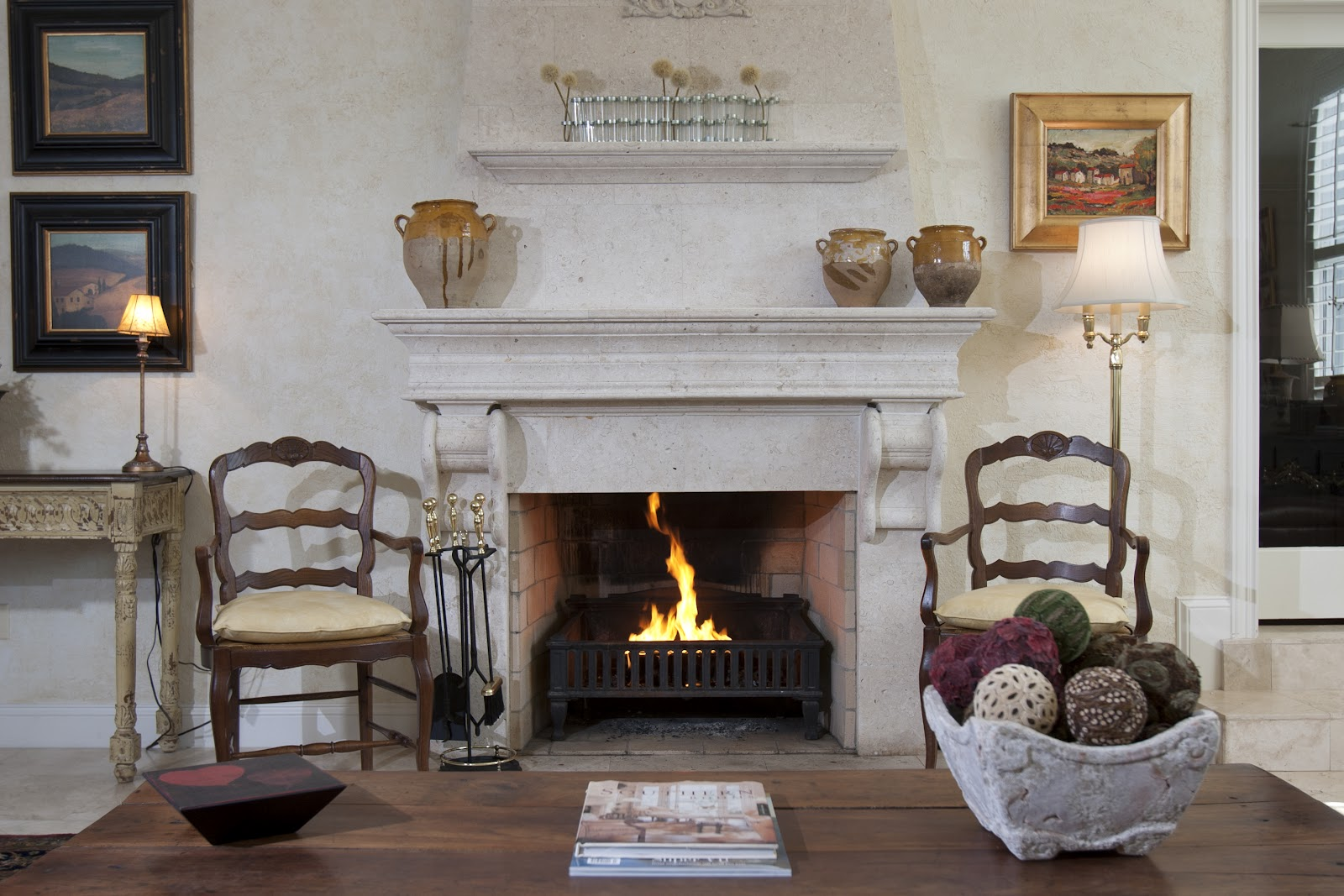 Firestarter news by earthcore is your fireplace ready for for Back to back indoor outdoor fireplace