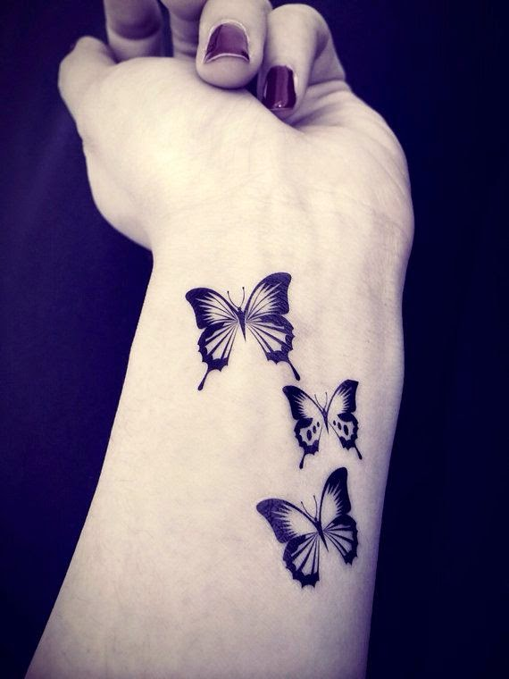 Butterfly tattoo - InknArt Temporary Tattoo