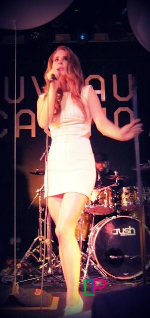 Lana Del Rey en concert à Paris au Nouveau Casino