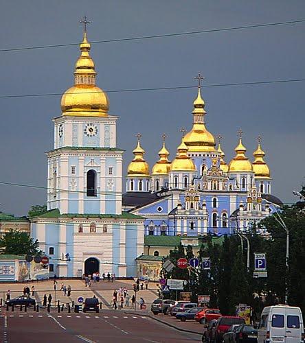 viaje a Ucrania St. Michael's Cathedral in Kiev, Ukraine