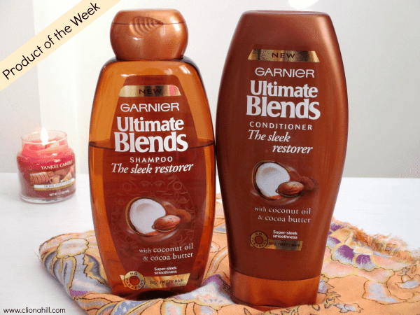 Garnier Ultimate Blends Sleek Restorer Shampoo and Conditioner