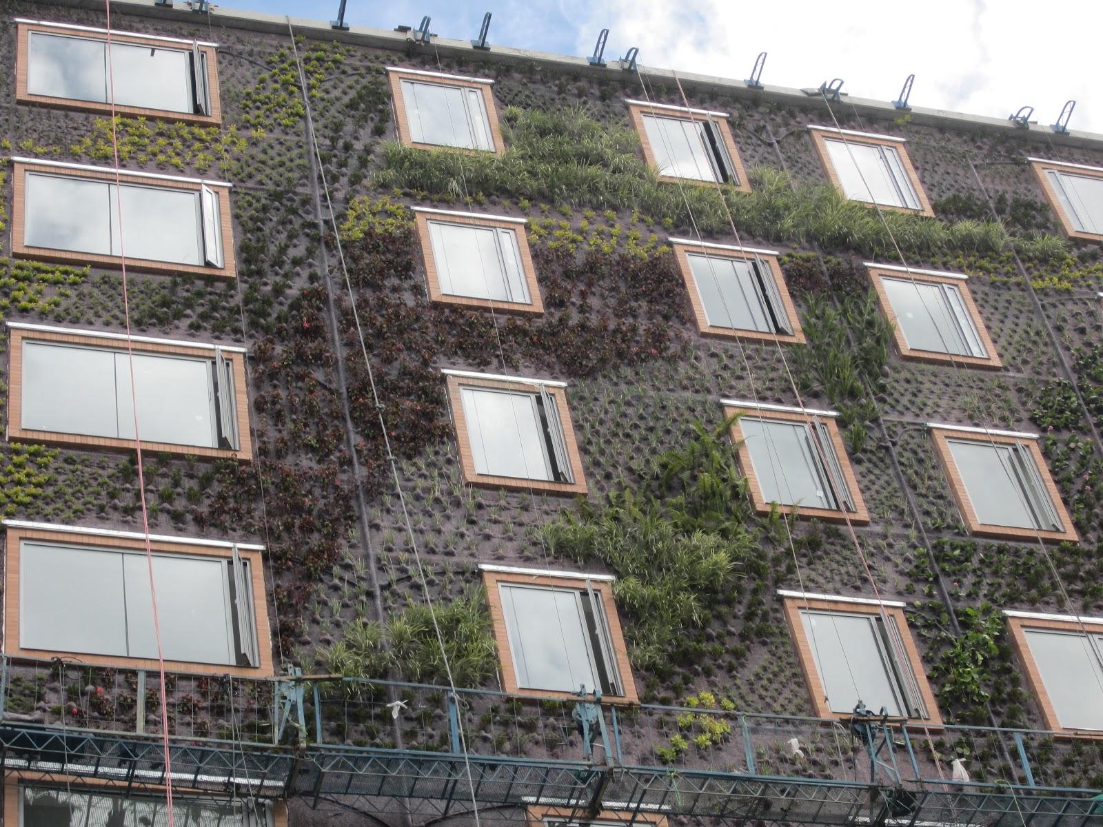 Jardin Vertical Bogota un Jardín Vertical