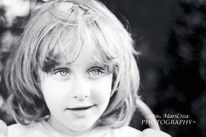 Little girl's portrait