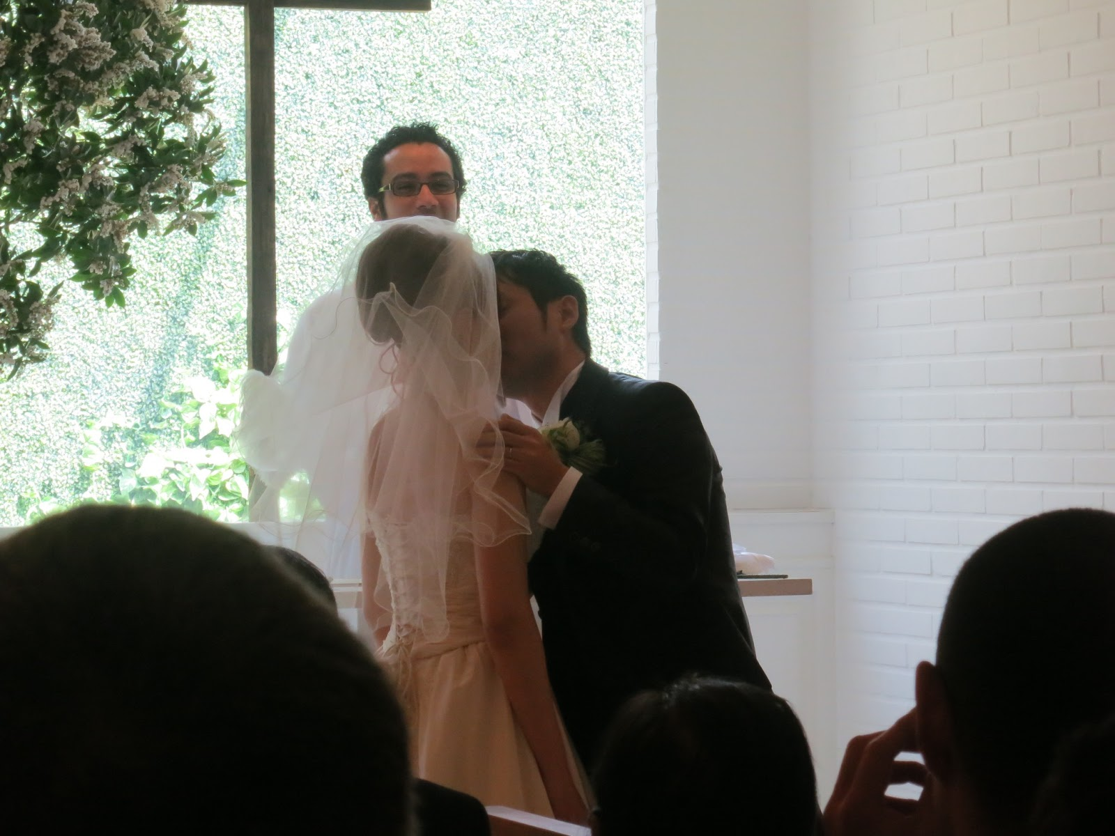 The Ceremony Was A Nice Western Style Japanese Wedding There Was A Ceremony With A Foreign Priest Who Spoke Japanese English And French During The