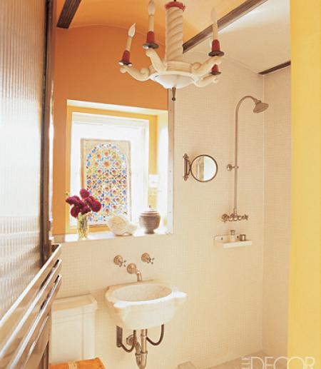 Decoracion Baño Muy Pequeno:Baños para espacios pequeños