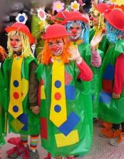 Roupas de carnaval  Payasobolsas