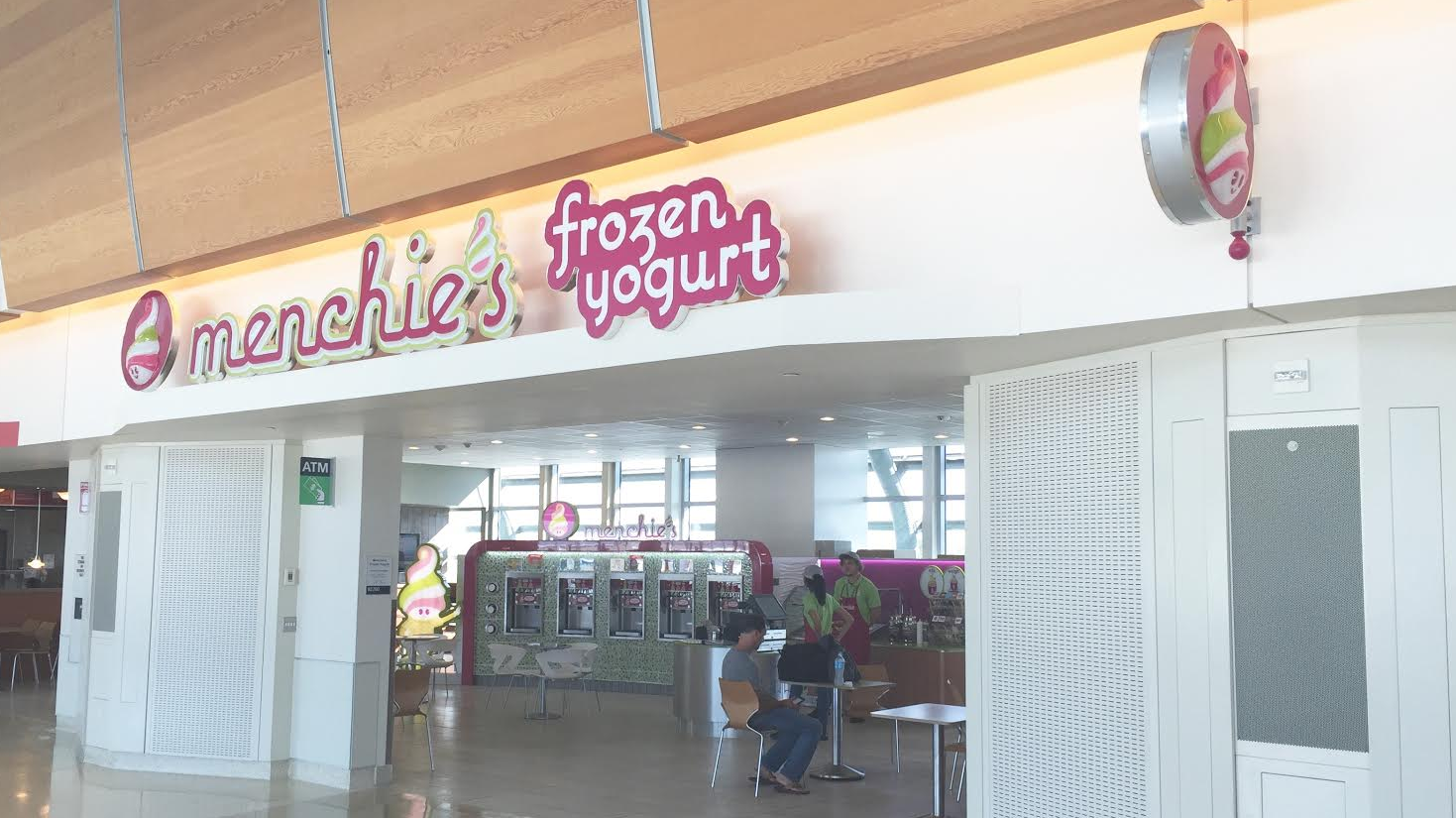 the san jose blog menchie s frozen yogurt opened first airport menchie s is located in terminal b near gate 19 and will be open daily from 5 30 a m to 10 30 p m if you are not travelling any time soon there is also