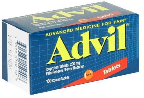 ibuprofen help healing