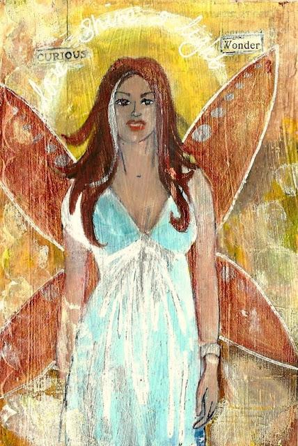 Whoopidooings: Carmen Wing: ICAD week 2 - Love Shine a Light