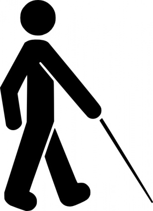 Pessoa com deficiência visual