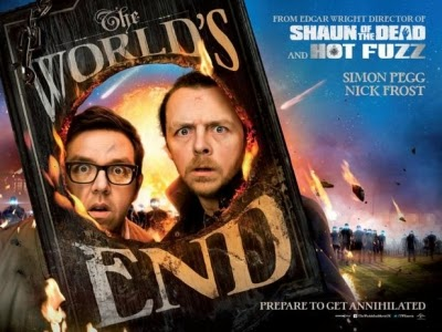 Simon Pegg co-wrote and stars in THE WORLD'S END