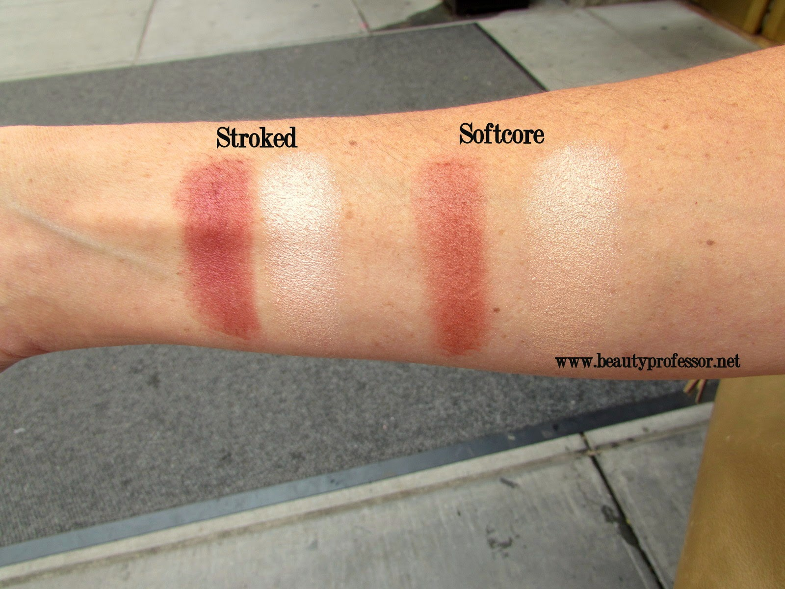 tom ford stroked softcore swatches