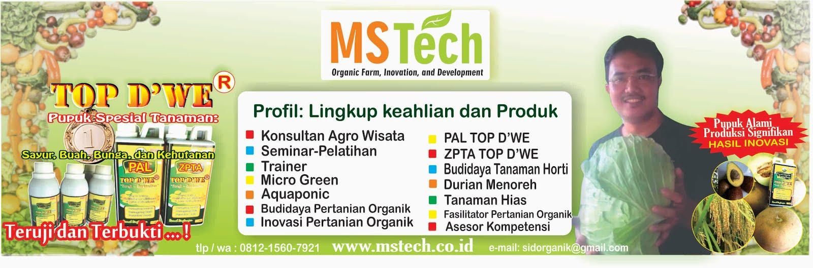MSTECH Pusat Budidaya Dan Produksi Bibit/Benih Durian Menoreh Pertama