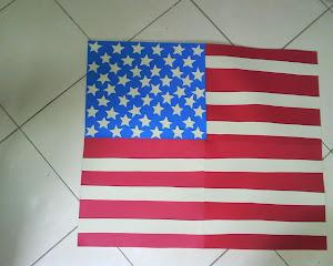 bandeira em eva