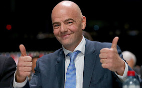 FIFA HAS A NEW PRESIDENT, GIANNI INFANTINO