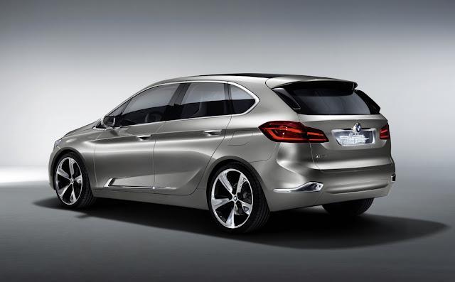 BMW Active Tourer electrocar image