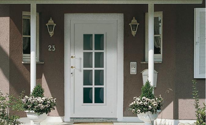 Elegir la puerta de entrada ideas para decorar dise ar - Puertas de aluminio para entrada principal ...