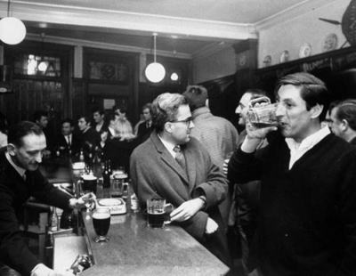 http://legrandcirque.tumblr.com/post/12452111727/the-kings-head-pub-in-earls-court-which-caters-to
