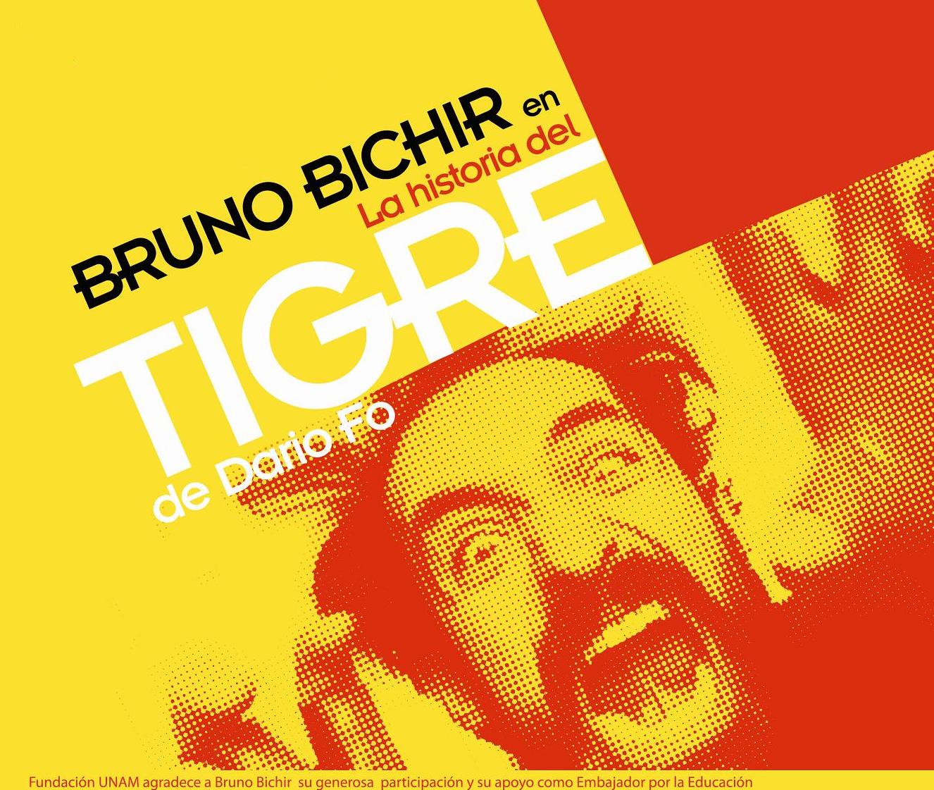 Bruno Bichir y la UNAM en favor de la educación profesional y cultural