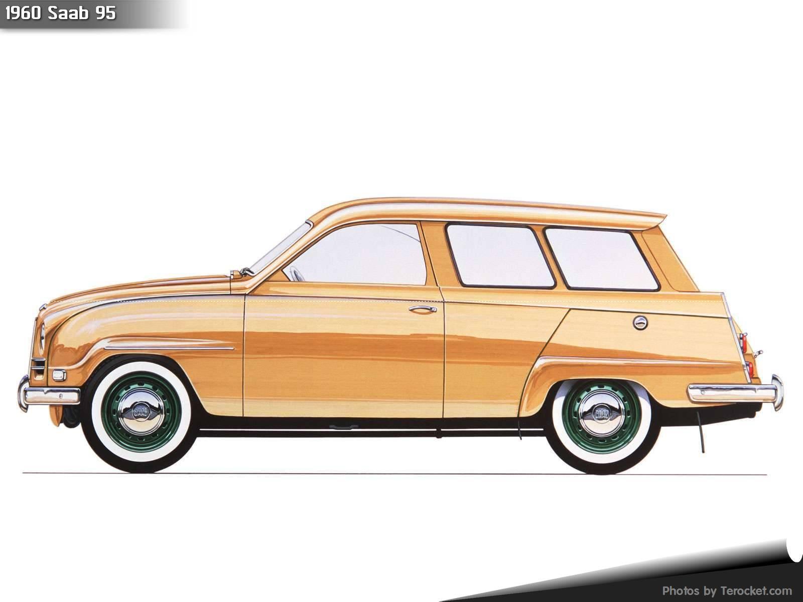 Hình ảnh xe ô tô Saab 95 1960 & nội ngoại thất