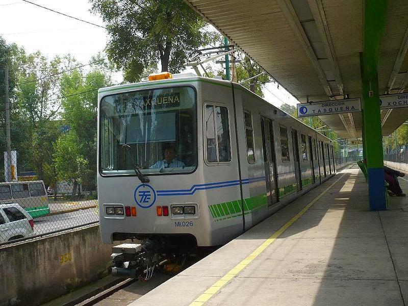 El Tren Ligero de la Ciudad de México