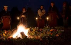Baltu Vienības uguns Sauliešu kalnā