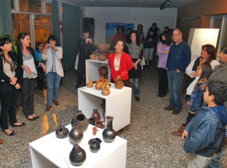 """Muestra """"Cultura mapuche"""" del Taller Barreales"""