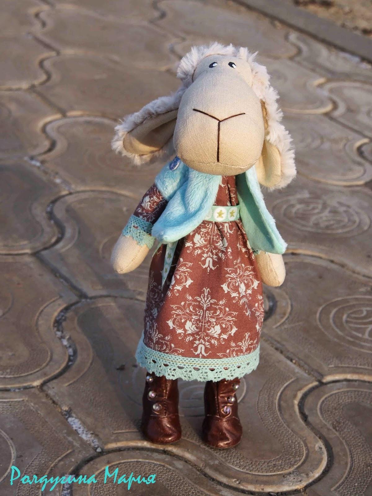 овечка новый год