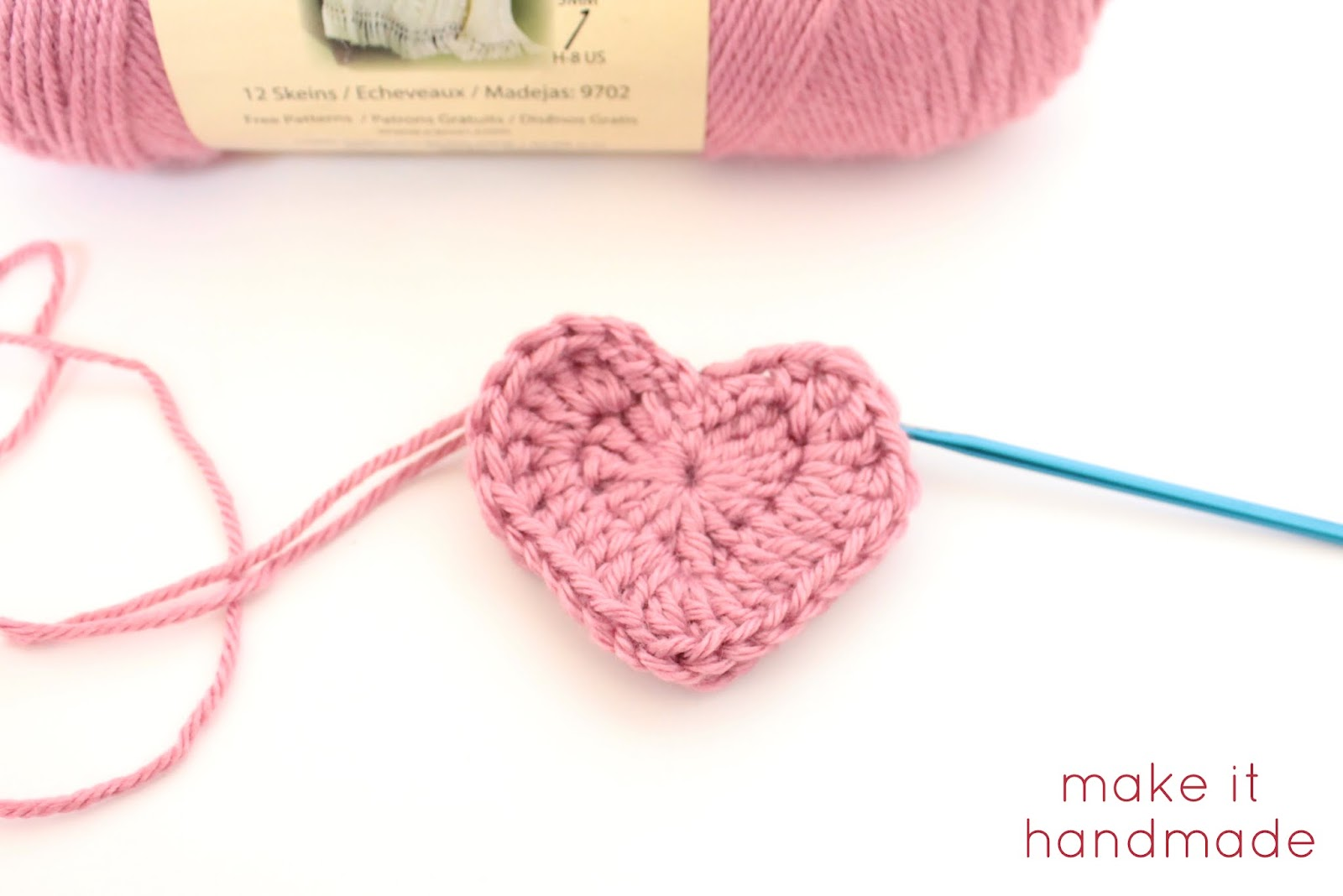 Make It Handmade: Crochet Heart Magnets