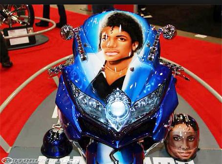 Michael Jackson Motorcycle Helmet