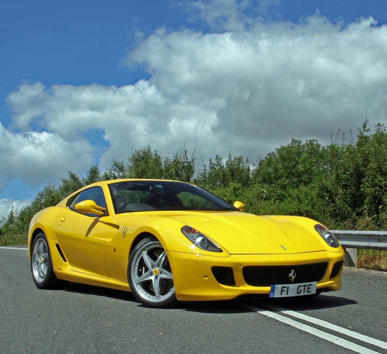 2012 Lamborghini Aventador: Ferrari California Yellow