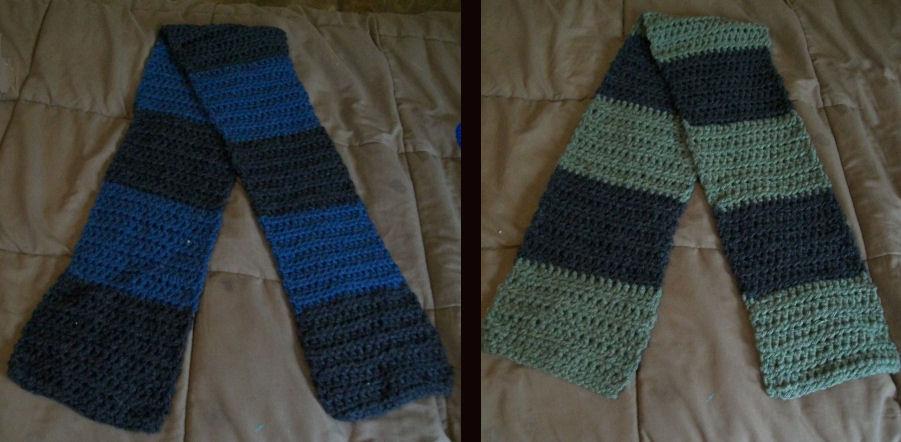 Half Double Crochet scarf