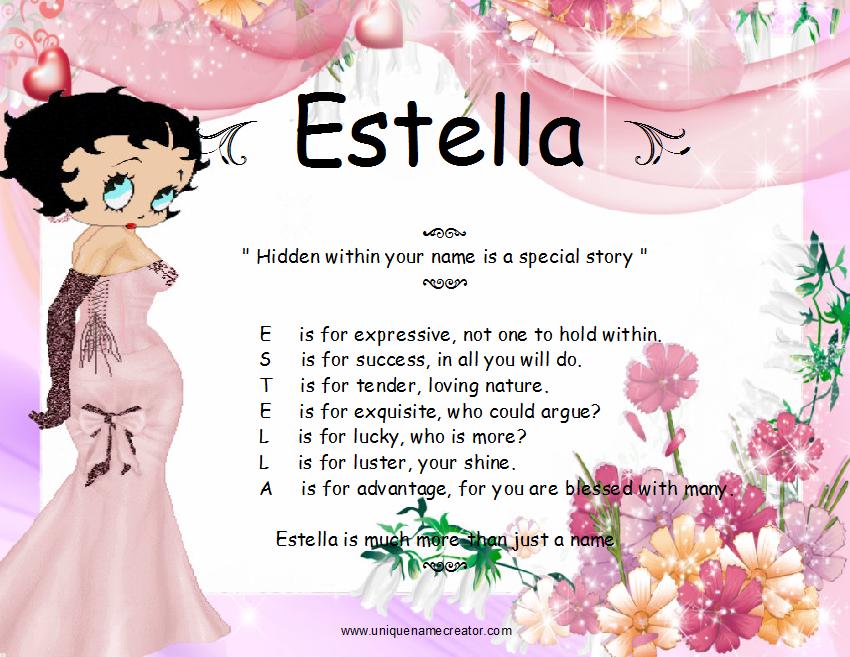 estella meaning