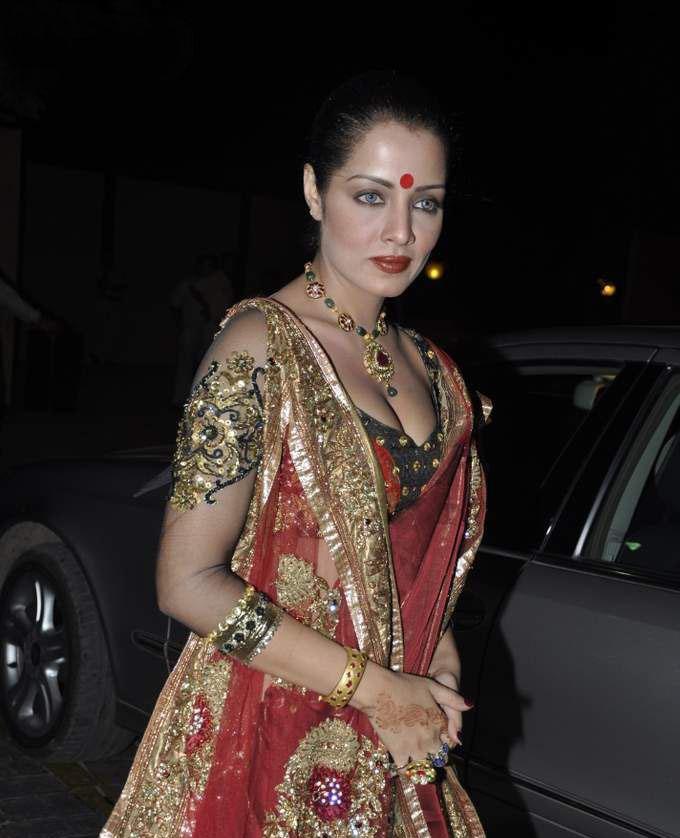 Celina Jaitley At Laila Khan Wedding Reception Gallery