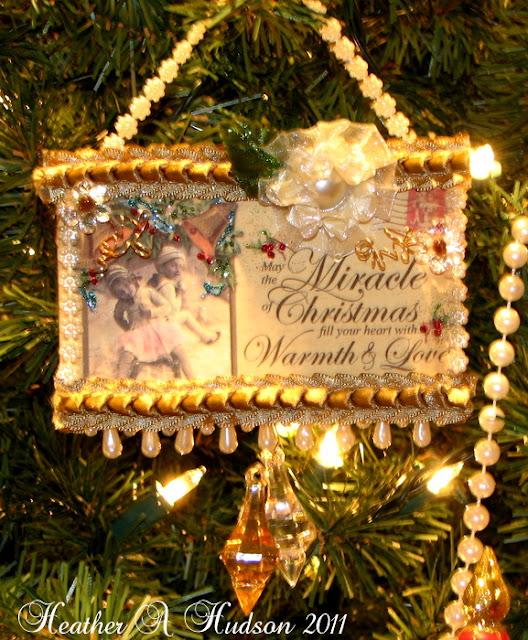 Heather A Hudson: Vintage Victorian Christmas Ornament