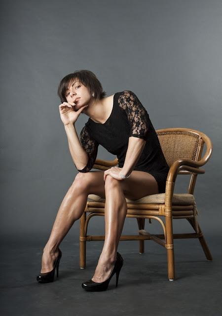 Natalia Celeste high heels